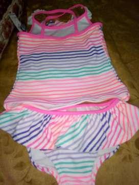 vestido de baño 2 a 3 años