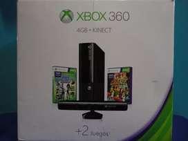 Venta de Xbox 360 4G+Kinect