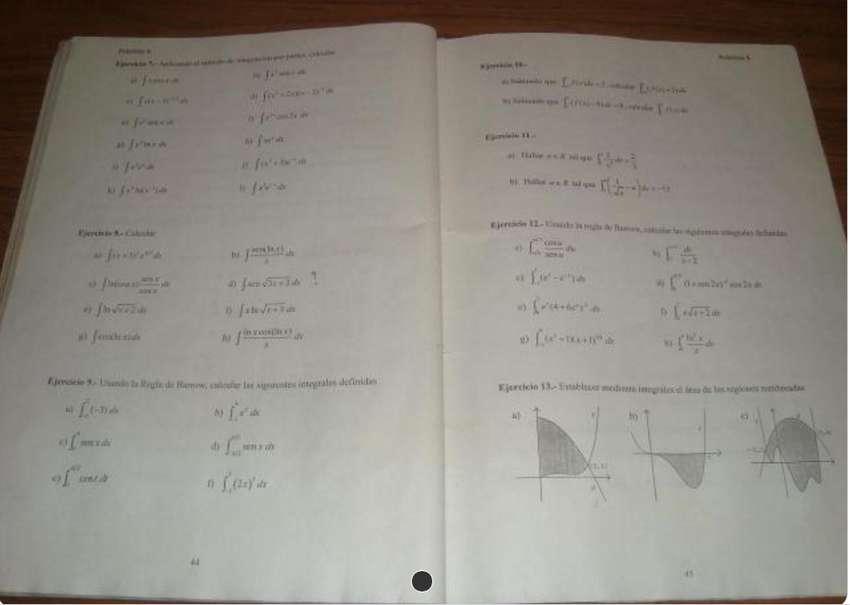 Clases Matematica CBC 51 , individual Castelar,  180 0