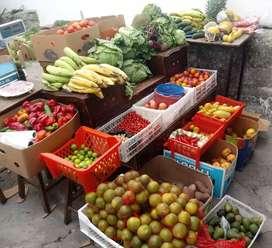Venta de frutas y hortalizas