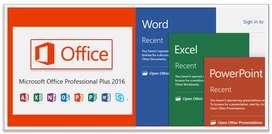 VENDO MICROSOFT OFFICE PROFESSIONAL PLUS 2016