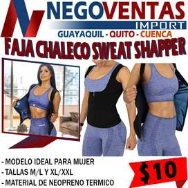 FAJA CHALECO SWEAT SHAPER