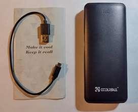 Powerbank batería externa Coolreall 15.600 mAh