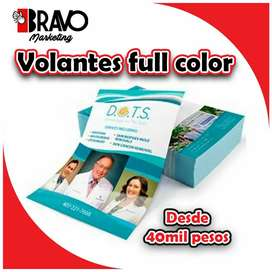VOLANTES FULL COLOR