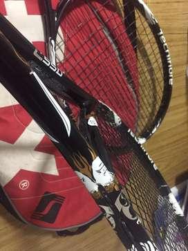 Vendo 4500 2 raquetas Tecnifibre y estuche Sufix