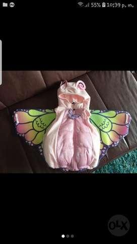 Disfraz de Mariposa Una Sola Postura