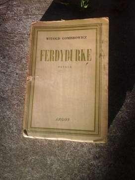 witold gombrowicz ferdydurke libro