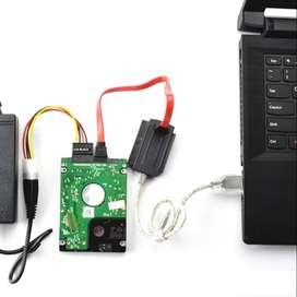 Cable Usb Sata Ide Disco Duro 2.5 3.5 Laptop Ps Adaptado