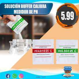 SOLUCION BUFFER CALIBRA MEDIDOR PH