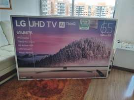 LG SMART TV 4K ULTRA HD LED 165 CM 65 pulgadas 65UM7650PDB TDT