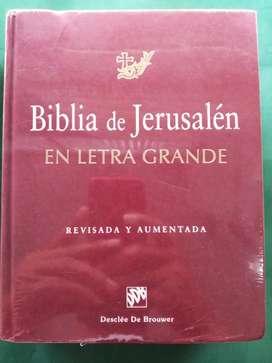 Biblia de Jerusalén en letra grande