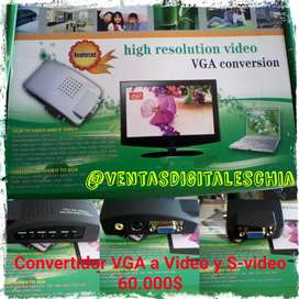VGA convierte a video y S-video