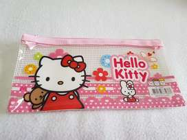 Kawaii Cartuchera D Plastico Hello Kitty