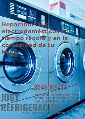Servicio técnico y reparación de neveras y lavadoras