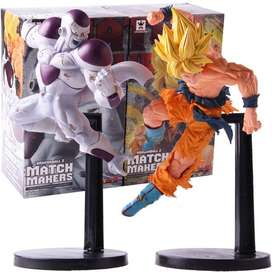 Dragon BALL  Freezer VS Goku figuras