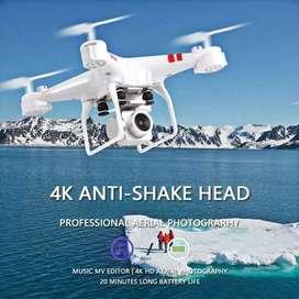 DRONE + CAMARA FULL HD + CONTROL REMOTO