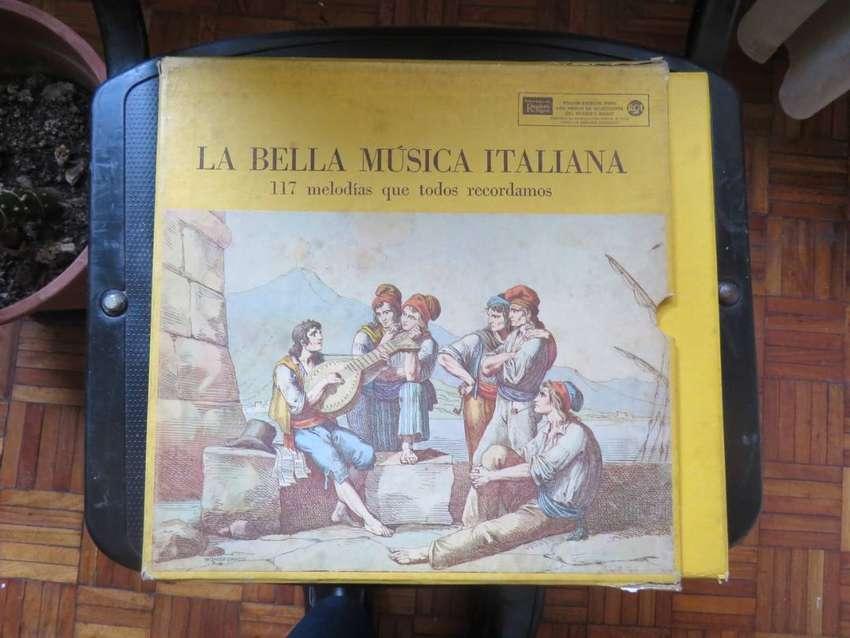 MUSICA ITALIANA DE RIDERS DIGEST 10 VINILOS 0
