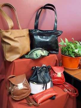 venta de carteras, bolsos , cartucheras y portacosmeticos