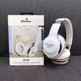 Auriculares Inalámbricos Bluetooth Estilo Diadema Headphones HI-FI Bass