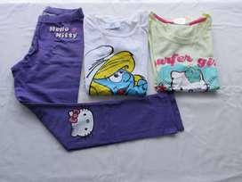 Lote de 3 prendas para nena, marcas europeas!, muy buen estado!