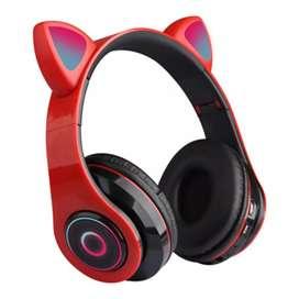 Auriculares Bluetooth ojeras con los led