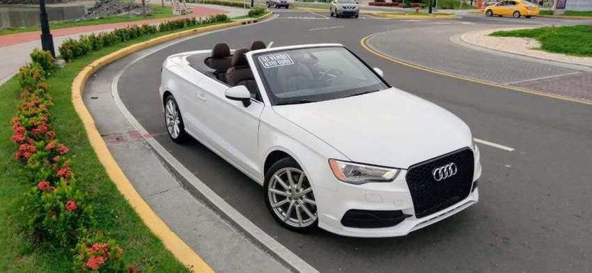 AUDI A3 2.0 TURBO 2015 CONVERTIBLE/DESCAPOTABLE 0