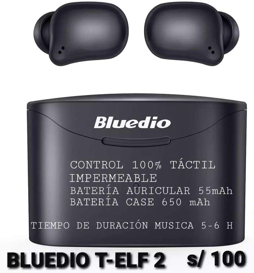 AURICULARES BLUETOOTH BLUEDIO T ELF 2 TACTIL 0
