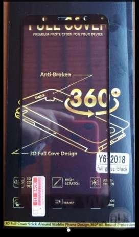 Mica de Vidrio Templado Huawei Y6 2018