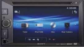 Radio Carro Sony XAV-65 Pantalla Tactil 6.2' USB 2Din DVD USB Nuevo Garantia Scp1