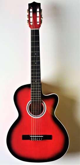 Guitarra Acústica Nacional + 1 clase virtual personalizada
