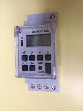 Temporizador Digital TE - 4163 modelo industrial - 16A 50/60 Hz.