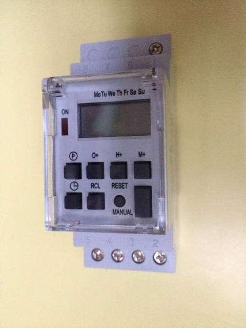 Temporizador Digital TE - 4163 modelo industrial - 16A 50/60 Hz. 0