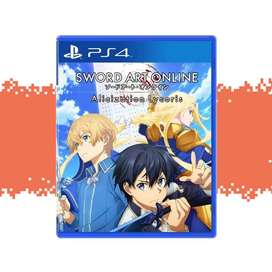 Alicization Sword Art Online Alicization Lycoris para PS4 Nuevo y Sellado