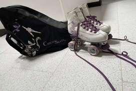Vendo patines de patinaje artistico en excelente estado