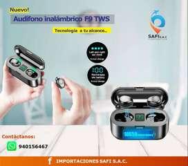 Audífono F9 True Wireless