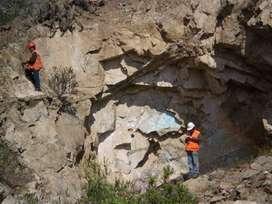 Se realizan PROGRAMAS DE TRABAJO Y OBRAS para minería subterránea y a cielo abierto. PTO