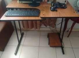 Mueble de computador de escritorio (Precio negociable)