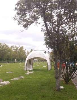 Lote Doble en Parque Cementerio, Jardines del Recuerdo