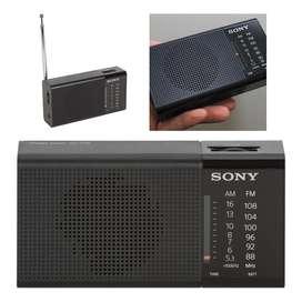 Radio Analogo Portatil Am/fm Sony Icf-p36 Horizontal