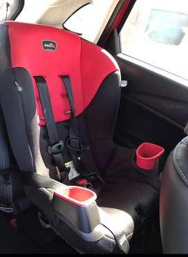 Silla para llevar al bebé en carro