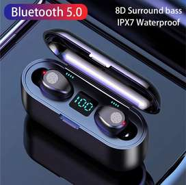 Audifonos inalambricos, bluetooth, touch, impermeables
