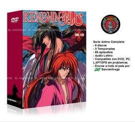 Samurai X Serie Anime Completa Rurouni Kenshin