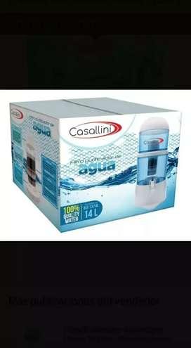 Filtro purificador de agua Casallini 14 litros