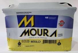 Bateria MOURA 12x80 12x85 reforzada M30LD diesel nafta quilmes oeste envios flete gasolero nueva sellada garantia