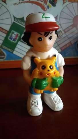 Pokémon Ash y Pikachu