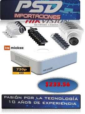 kit de cámaras de seguridad hik vision