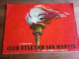 Antigua Revista del Club Atlético San Martín Santa Fe