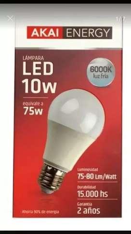 Lamparas led 10wat =75w