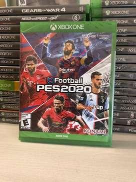 Pes 2020 Xbox One Español Nuevo sellado en fisico