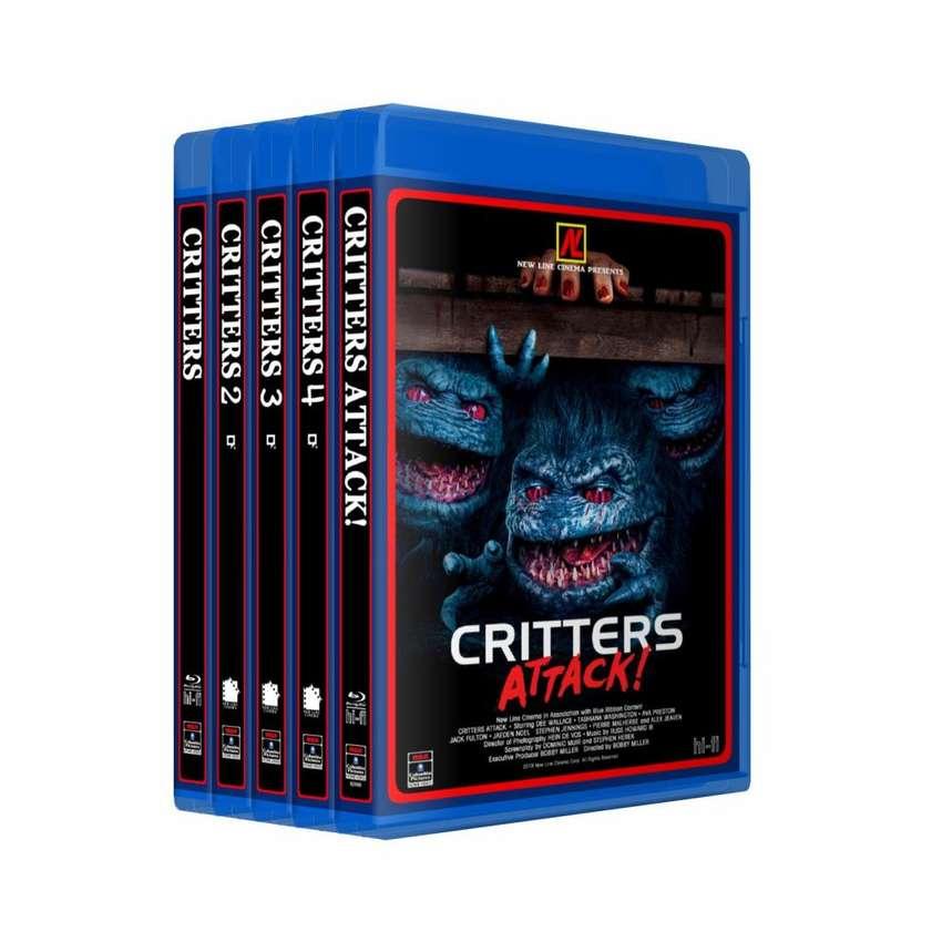 Critters Saga Completa Bluray Colección 5 Peliculas Latino 0